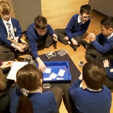 Year 4 trip to the Ashmolean museum