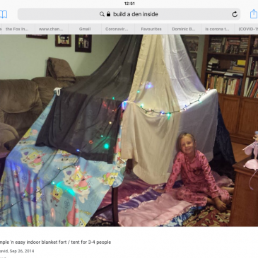 Family Activities – to do at home