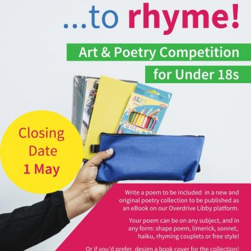 Oxfordshire Libraries eBook Poetry and Art Competition